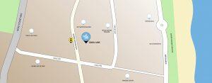 Cavill Lane Map
